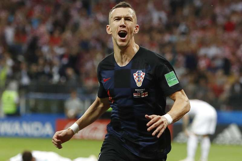 克羅埃西亞佩里西奇效力國際米蘭,這個球會已經連續10屆世足決賽不缺席。(美聯社)