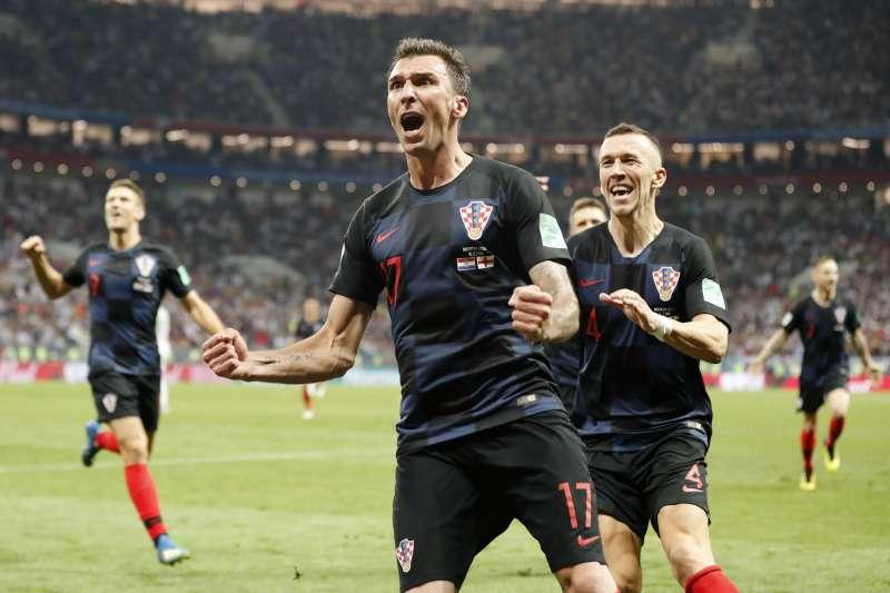 克羅埃西亞國家隊打入2018年俄羅斯世界盃決賽(AP)