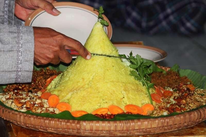 印尼人以米食為主,政府鼓勵民眾多吃蔬果。(mufidpwt@pixabay)