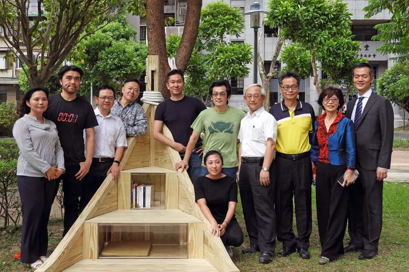 魏德聖、楊奭凡合作設計的昌隆公園「方舟書席」(北市府)