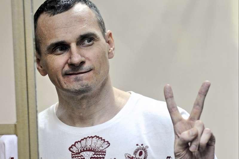 遭俄羅斯政府關押的烏克蘭導演森佐夫(AP)
