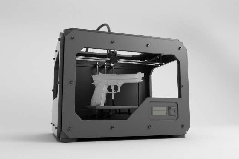 經過 3 年多纏訴,美國政府終於允許3D列印槍支的製造商Defense Distributed合法列印槍枝、並將設計圖公開網上。(圖/智慧機器人網提供)