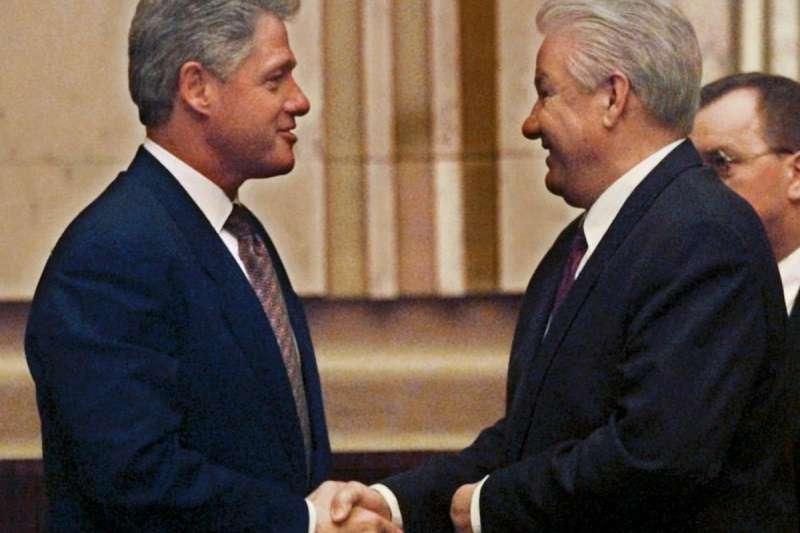 1997年3月,美國總統柯林頓(Bill Clinton)和俄羅斯總統葉爾欽(Boris Yeltsin)也選在芬蘭首都舉行高峰會。(美聯社)