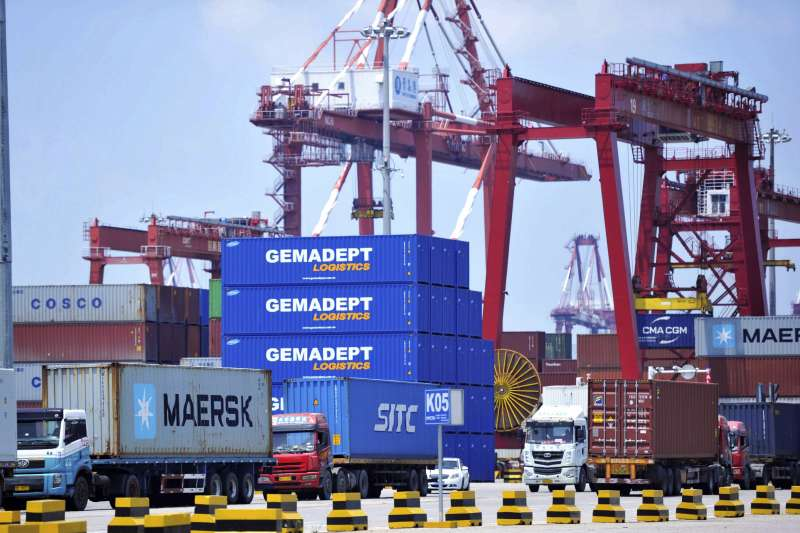 中美貿易戰(AP)