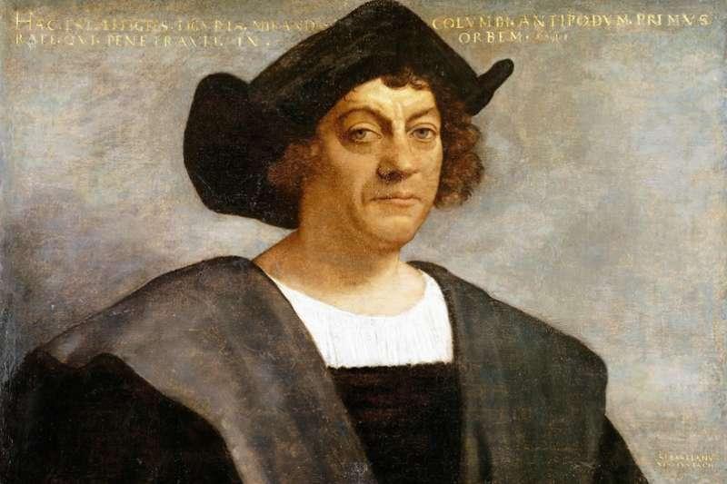 哥倫布在出海前不過是個打雜魯蛇,最後「盧」到西班牙王室受不了,答應讓他出海。(圖/維基百科)