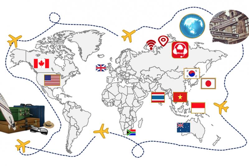 BEasy提供真人線上口譯APP,讓使用者輕鬆走遍世界各地(圖/恆鼎科技提供)