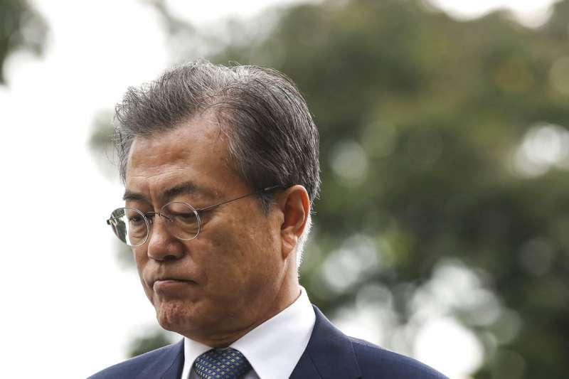 南韓總統文在寅。(美聯社資料照)