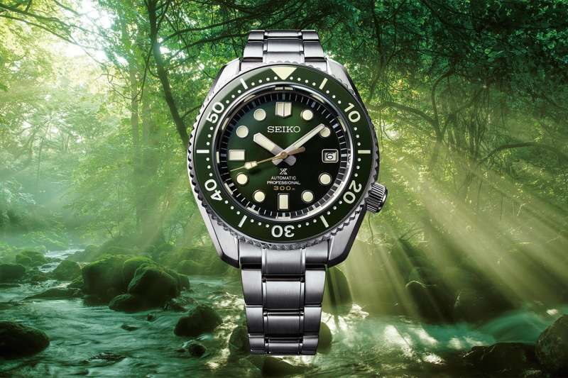 Seiko特地捐出復刻自1968年,全球限量1,968只的屋久島限量錶款背刻序號888作為此次公益7DAYS競標的錶款SLA019J1  NT$103,000, 台灣限量70只(圖/SEIKO提供)