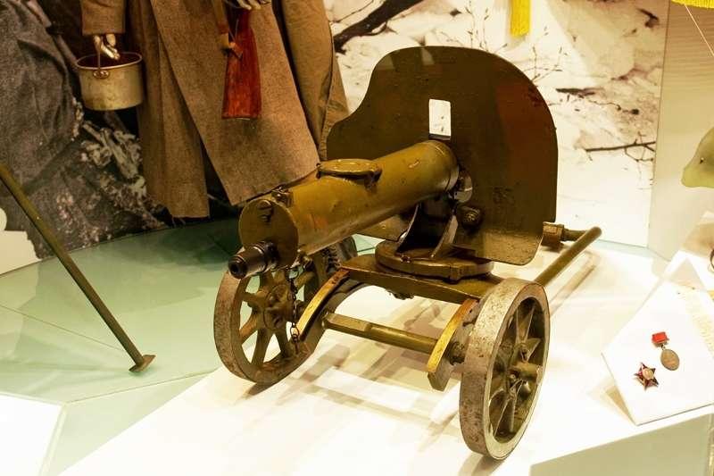 馬克沁機槍是一次大戰中的代表性武器,可以說是殺人無數。(Alexxx Malev@flickr)