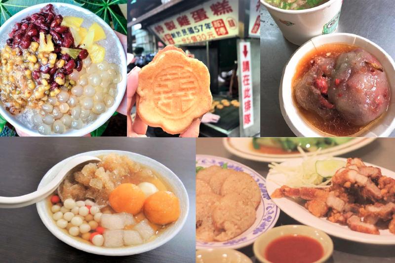 許多到新竹旅遊、念書、工作的外地人,老說新竹是美食沙漠,但在地人可不同意呢!(圖/kate0112_justdoeat@instagram、candyfish_foodie@instagram、fooooodsharing@instagram、kanmother@instagram、地芋豆花@facebook,風傳媒製圖)