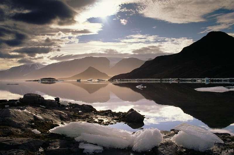 加拿大埃爾斯米爾島的冰川面積大幅減少(取自Pixabay)