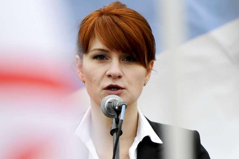 俄羅斯女子布提納(Maria Butina)遭美國檢方控為俄國間諜,建立俄國與美國政治組織的「秘密溝通管道」。(AP)