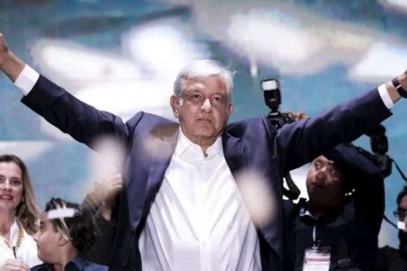 墨西哥總統羅培茲.歐布拉多爾。(BBC中文網)
