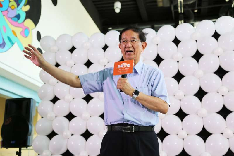 前中研院長李遠哲說台大校長遴選爭議非關學術自由。(取自台灣科學教育館)