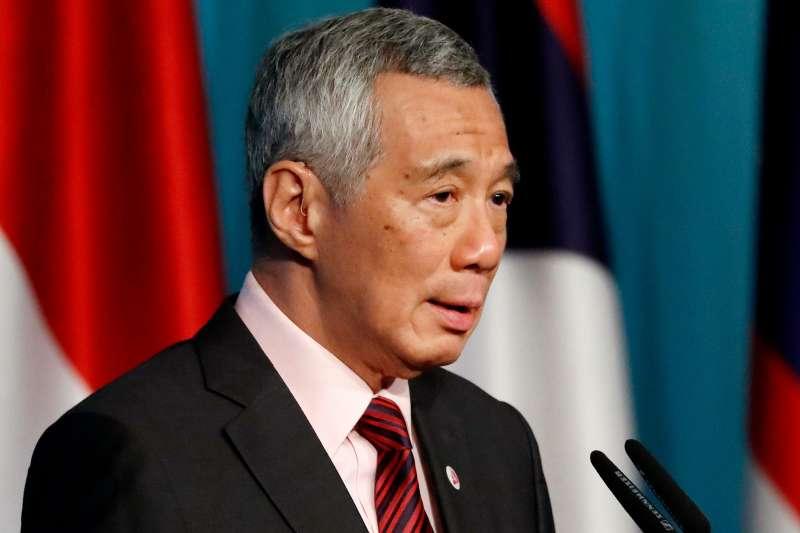 新加坡爆出史上最嚴重的個資遭竊事件,警方認為總理李顯龍是駭客的目標。(美聯社)