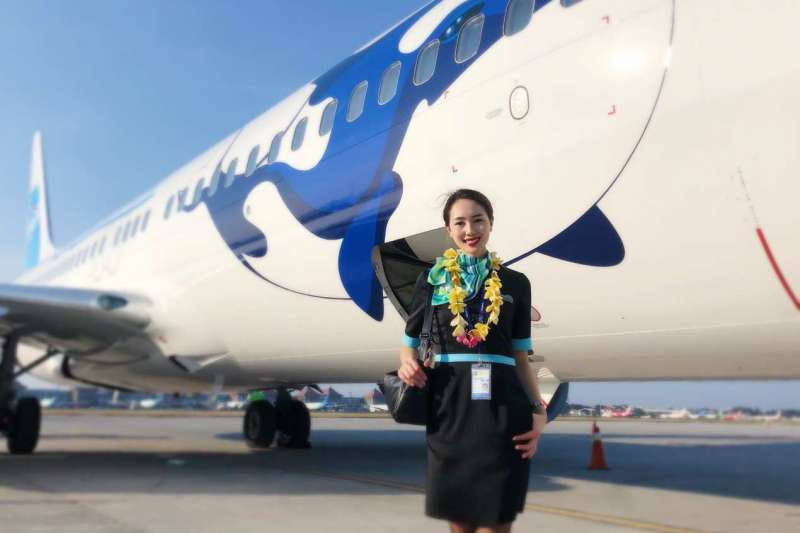 帛琉太平洋航空停業在即,機組人員面臨失業命運。(邱宏照提供)