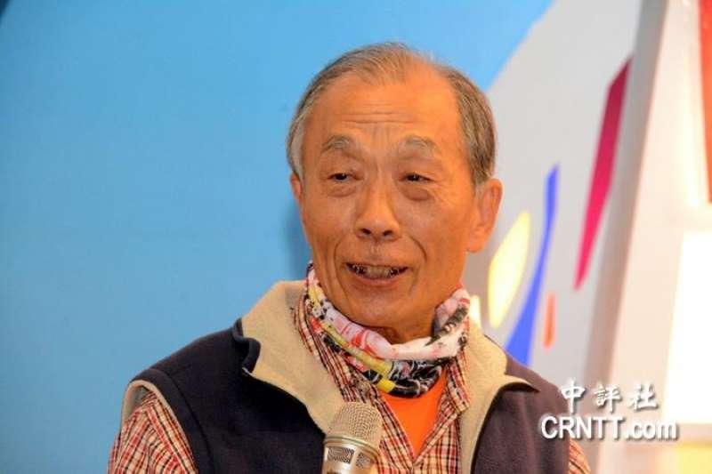 前台南縣議員蔡四結21日宣布參選台南市第一選區市議員選舉。(中評社)
