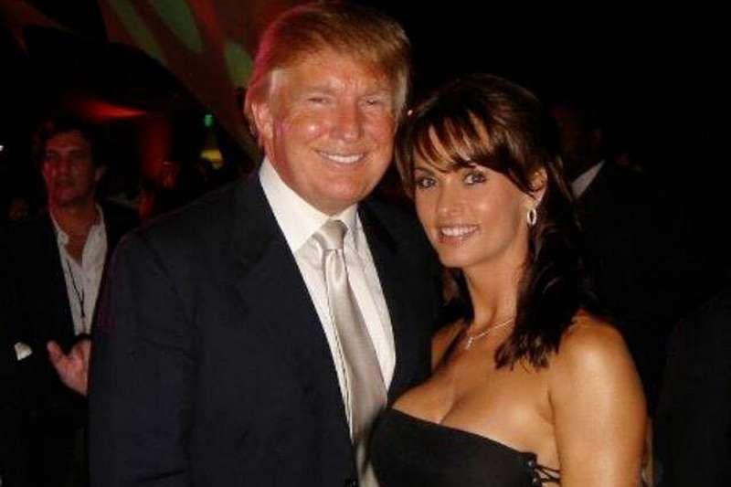 與美國總統川普有過婚外情的前《花花公子》(Playboy)女郎麥杜高(Karen McDougal)(Karen McDougal via Twitter)