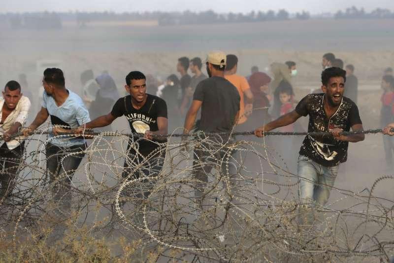 治理加薩走廊的巴勒斯坦激進組織哈瑪斯宣布,與以色列達成停火協議(AP)