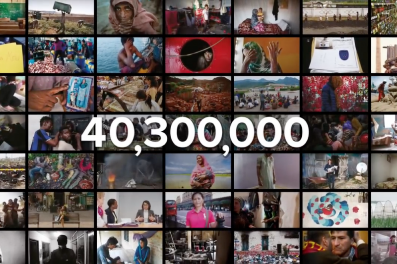 全世界約有4030萬人淪為現代奴隸。(全球奴役指數網站)