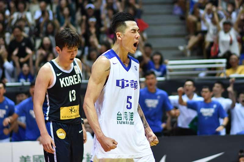 瓊斯盃最後一天,傳統好戲中韓大戰,在劉錚單場25分以及周儀翔關鍵切入的表現下,4分之差擊敗韓國,拿下勝利。(圖/王永志攝)