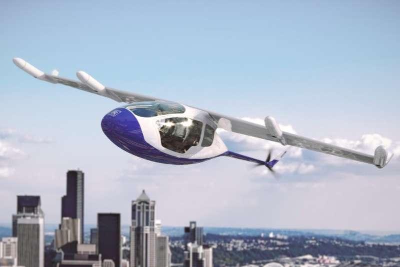 勞斯萊斯最近宣布開始研發空中計程車的推進系統,特別之處在於可以做到垂直起降。(圖/Rolls-Royce,數位時代提供)