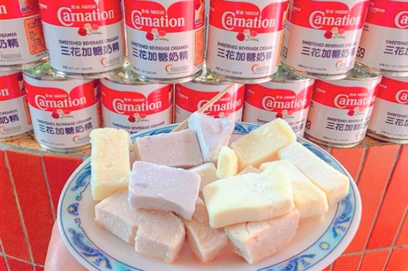 外觀平凡的食物都用料實在、最好吃,這裡精選全台5間古早味芋冰給你!(圖/egglu77@instagram,圖片經授權)