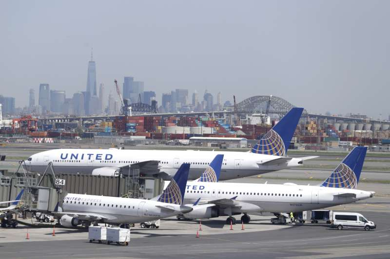 美國3大航空之一的聯合航空(AP)