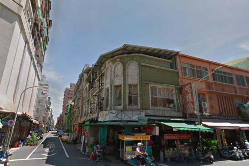 永清浴室當年所在的高雄市鹽埕區新興街一景。(取自Google Map)