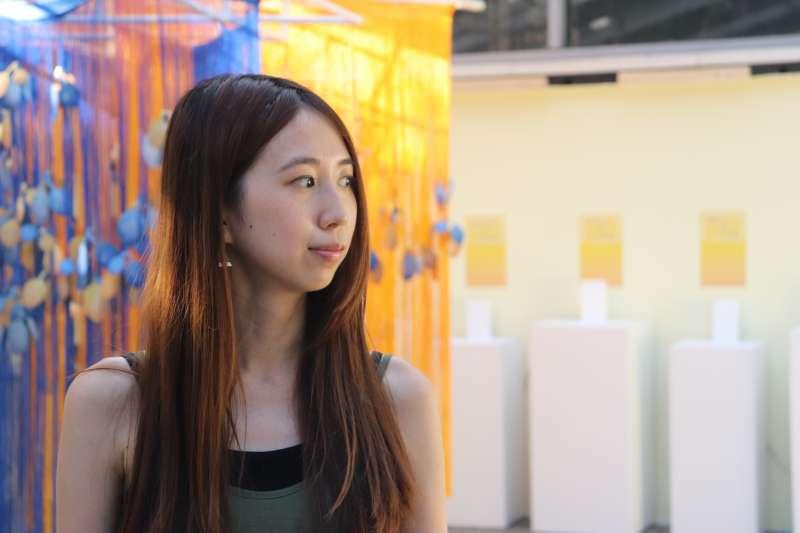科索沃未來展:策展人、台灣女生郭家佑一手催生這次展覽(郭家佑提供)