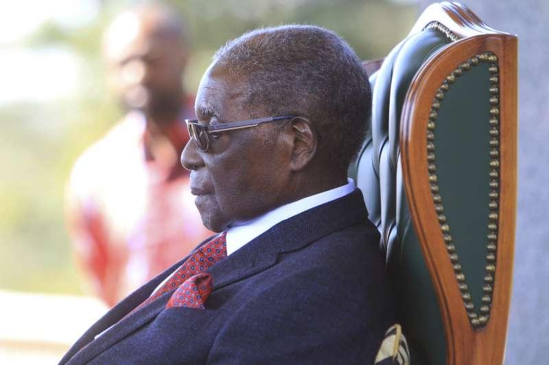 辛巴威大選:前總統穆加比表態不挺同黨候選人姆納加瓦(AP)