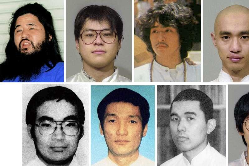 2018年7月,日本政府分兩批以絞刑處決奧姆真理教死囚。(美聯社)