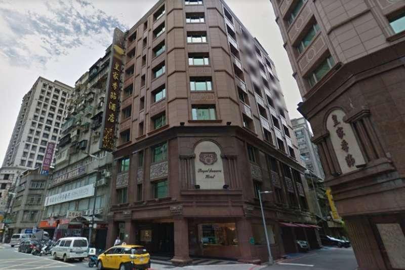 南京西路「皇家季節酒店」。(翻攝自Google Map)