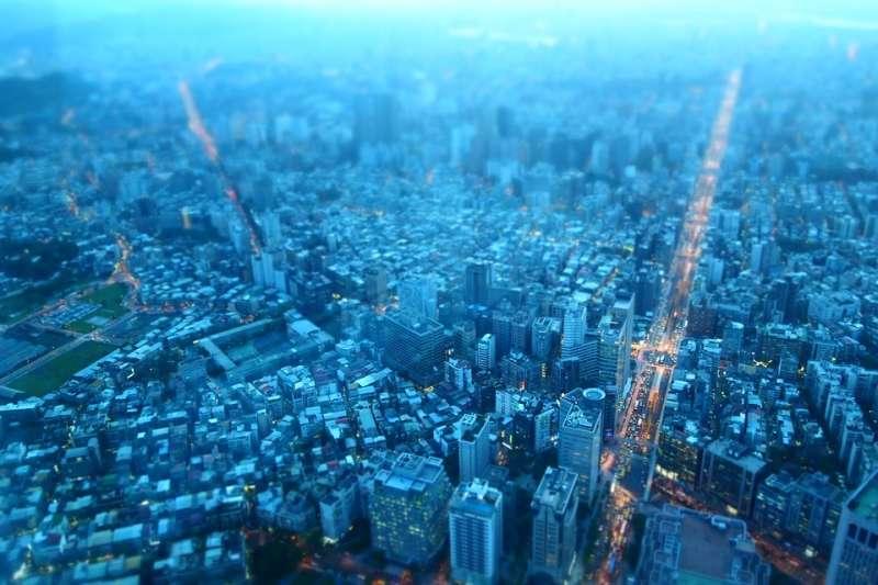 台北市 城市 街景(取自n23club@pixabay/CC0)