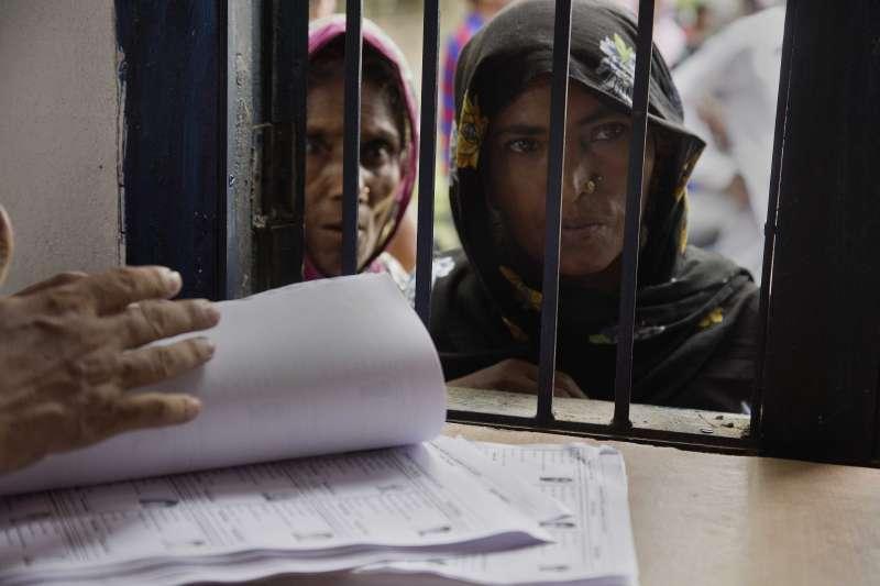 印度阿薩姆邦更新國家公民註冊名單,當地穆斯林恐被迫成為無國籍人士(AP)
