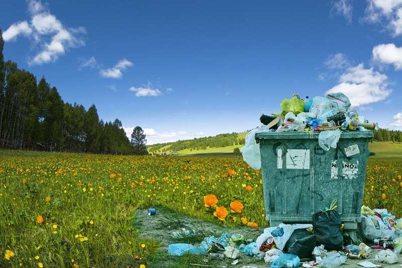 垃圾回收,僅只是廢棄物處理的一小部份,如何達到循環經濟才是面對課題!(圖/maxpixel)