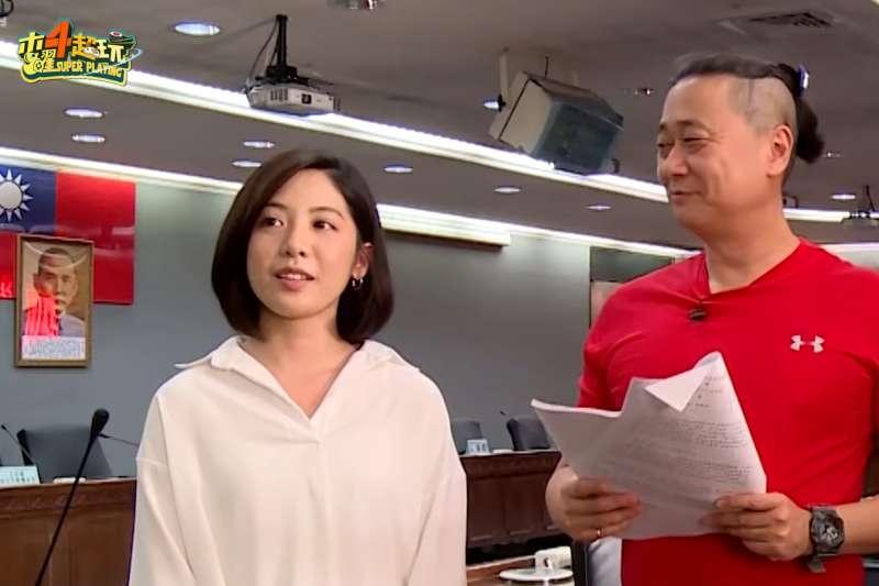 台北市長柯文哲幕僚「學姊」黃瀞瑩因為影片「一日幕僚」一夕爆紅(YouTube)