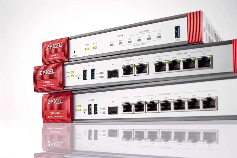 合勤ZyWALL VPN系列提供多重備援及AP控制器、熱點管理等多樣化應用功能(圖/合勤提供)