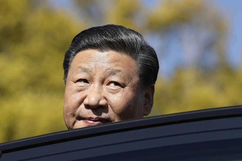 中國領導人習近平出訪非洲,推廣一帶一路。(美聯社)