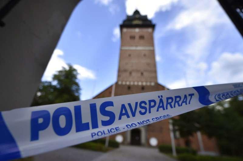 瑞典王室物品被盜。(AP)