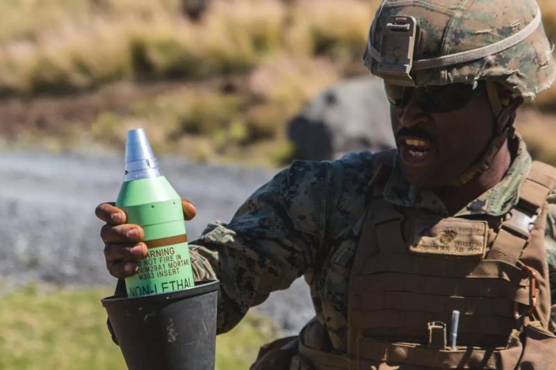 美國軍方試射新型非致命武裝。(圖/翻攝自 The Drive,智慧機器人網提供)