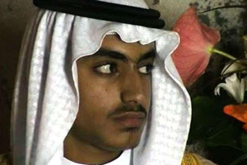 基地組織前領導人賓拉登,最小的兒子哈姆札(Hamza bin Laden)遭美國認定為恐怖分子。(AP)