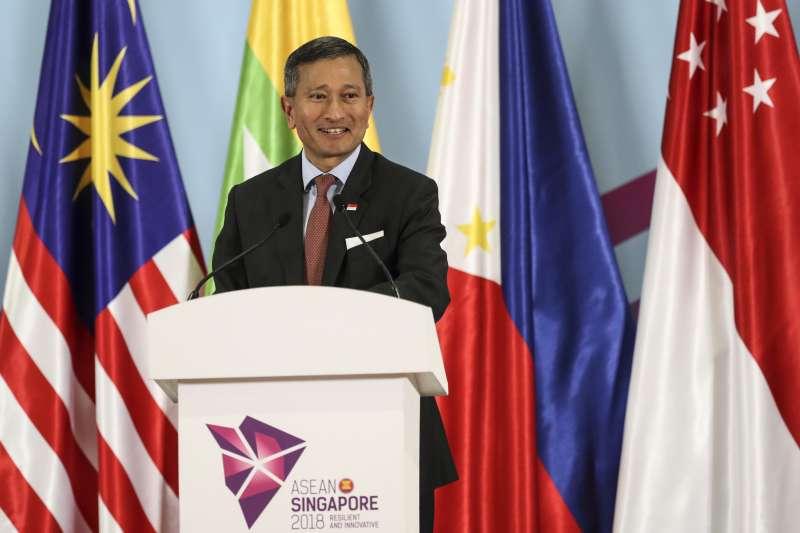 新加坡外交部長維文。(美聯社)
