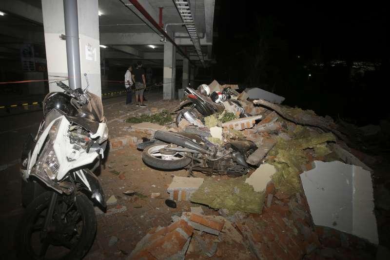 2018年8月5日,印尼龍目島發生芮氏規模7.0的大地震,造成慘重死傷(AP)