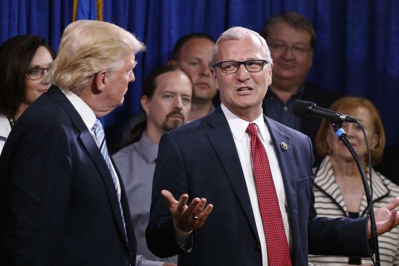 共和黨北達科塔州聯邦參議員候選人克拉默(Kevin Cramer)(AP)