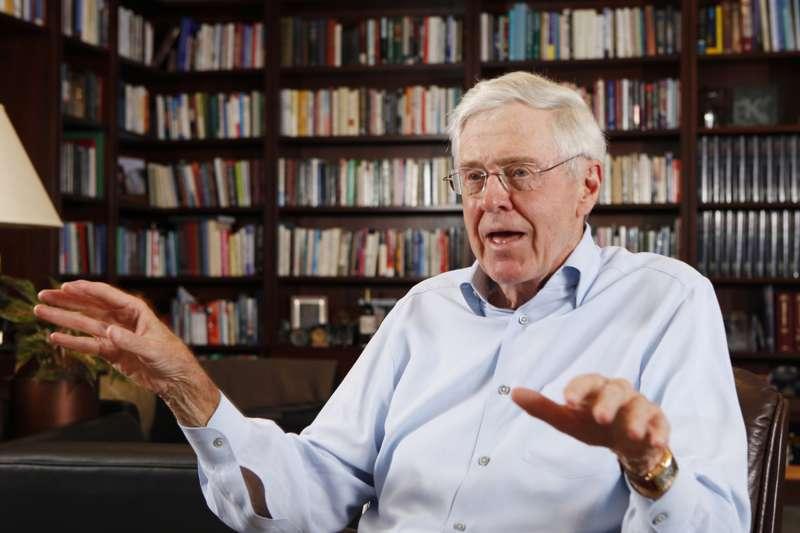 查爾斯.科克(Charles Koch),美國保守派與共和黨最重要的金主(AP)
