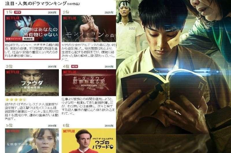戲劇「你的孩子不是你的孩子」直視扭曲的親子關係,引起日本觀眾矚目。(圖/NETFLIXオリジナル完全ガイド官網)