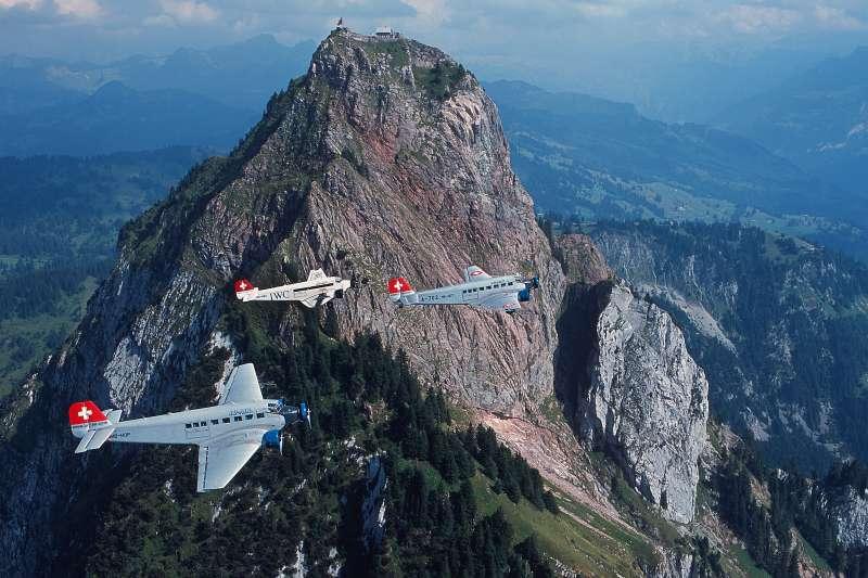 瑞士「JU-AIR」公司二戰德國骨董運輸機Ju 52(AP)
