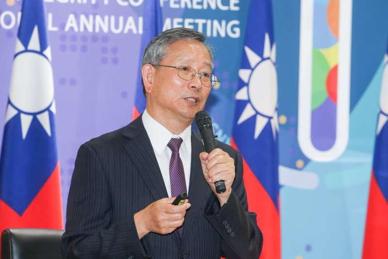 司法院秘書長呂太郎,出席20180807-因應司改國是會議,法務部舉行「司法改革第二次半年進度報告」記者會。(陳明仁攝)