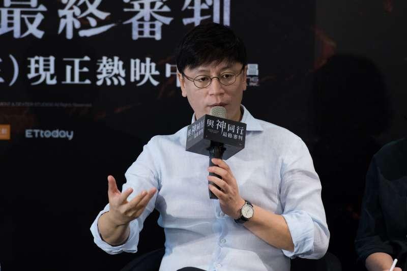 與神同行電影導演-金容華,今(7)日在臺北文創舉辦座談會分享,讓影迷一窺賣座電影幕後製作的辛苦歷程。